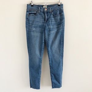 J. Crew Toothpick Skinny Jeans in Bryson Wash Blue